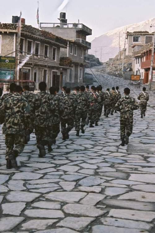 Nepal_marching_stoneroad