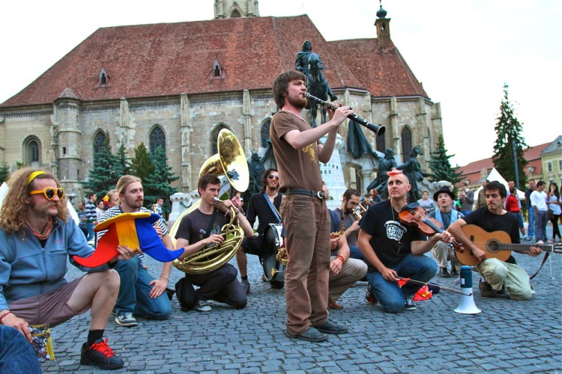Lemon Bucket Orkestra take East European music, Toronto punk soul to Romania