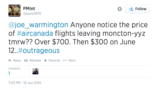 critics  air canada falsely accused   faking proof  price gouging mourners
